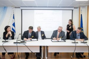 TAP agreed upon its Greek pipeline section with DESFA